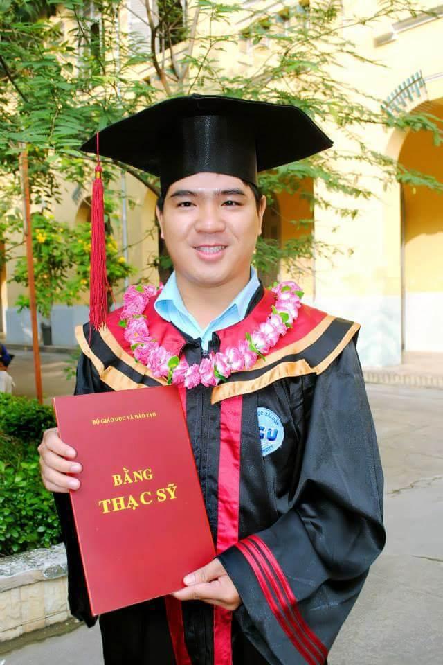 Thạc sỹ toán học Nguyễn Văn Vũ