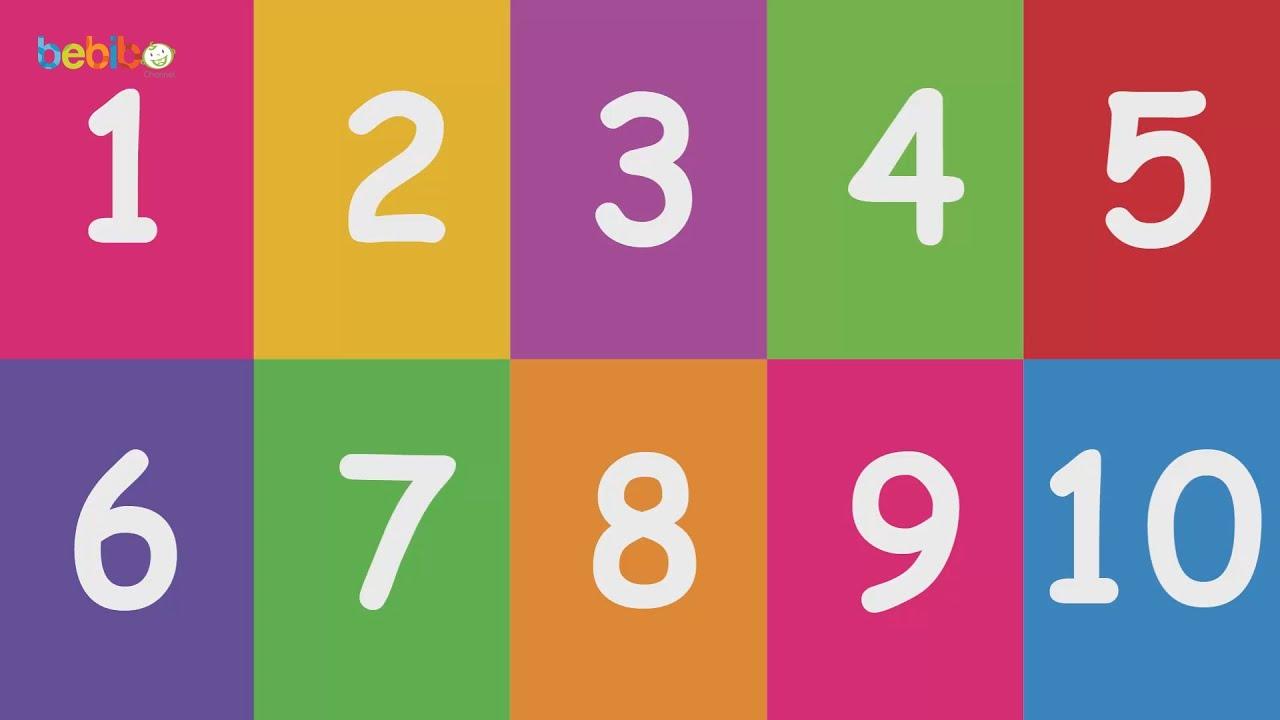Bảng số lớp 1
